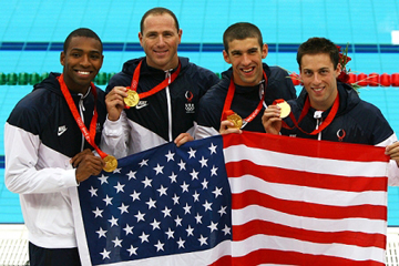 Gold medal relay